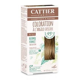 CATTIER Coloration à l'argile Ton sur Ton Blond Foncé 6.0