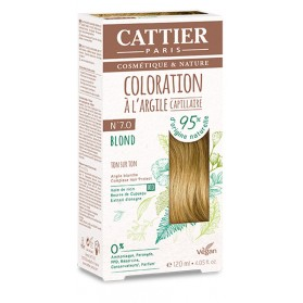 CATTIER Coloration à l'argile Ton sur Ton Blond 7.0