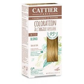 CATTIER Coloration à l'argile Ton sur Ton Blond 7.0