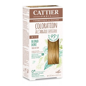 CATTIER Coloration à l'argile Ton sur Ton Blond Doré 7.3