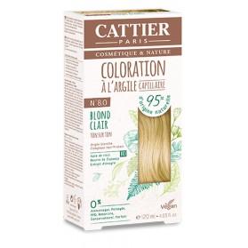 CATTIER Coloration à l'argile Ton sur Ton Blond Clair 8.0