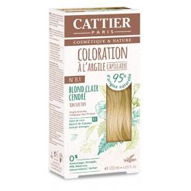 CATTIER Coloration à l'argile Ton sur Ton Blond Clair Cendre 8.1