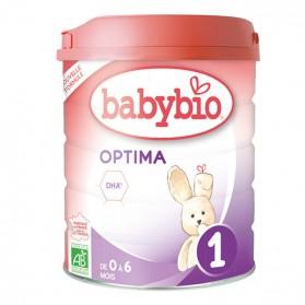 BABYBIO OPTIMA 1 LAIT NOURISSON DES LA NAISSANCE BIO 900G