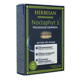Herbesan Noctaphyt 3 Tricouche Sommeil 15 comprimés