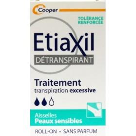 ETIAXIL DETRANSPIRANT AISSELLES PEAUX SENSIBLES 15ML