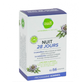 PHARMASCIENCE NUIT 28 SOMMEIL 56 COMPRIMES