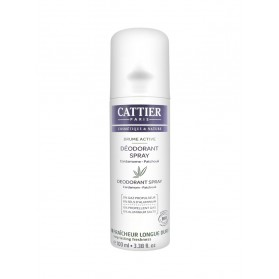 Cattier Brume Active Déodorant Spray 100 ml