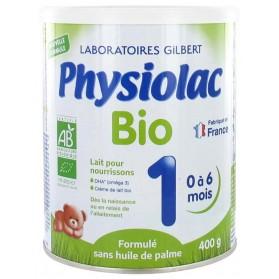 PHYSIOLAC BIO 1ER AGE de 0 à 6 mois 400G