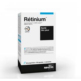 NHCO RETINIUM SANTE DES YEUX 28 COMPRIMES + 28 CAPSULES