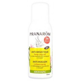 PRANARÔM AROMAPIC SPRAY CORPS ANTI-MOUSTIQUE 75 ML