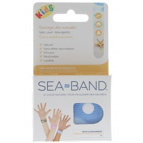 Bracelet acupression Kids blue Sea Band - 1 paire de bracelets