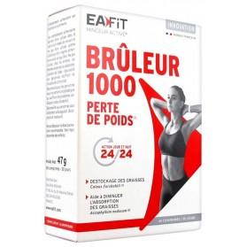 EAFIT BRÛLEUR 1000 PERTE DE POIDS 60 COMPRIMÉS