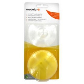 MEDELA 2 BOUTS DE SEIN CONTACT - TAILLE : L - 24 MM