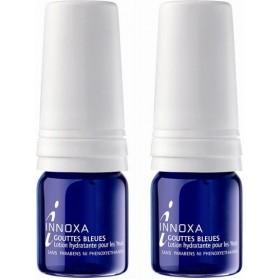 Innoxa Gouttes Bleues Lotion hydratante stérile pour les yeux Lot de 2 X 10ml