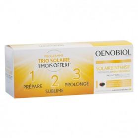 Oenobiol Solaire Intensif Peau Sensible Lot de 3 x 30 capsules