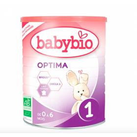 BABYBIO OPTIMA 1 LAIT NOURISSON DES LA NAISSANCE BIO 400G