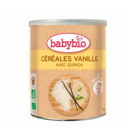 BABYBIO CEREALES VANILLE QUINOA BIO dès 6 mois 220G