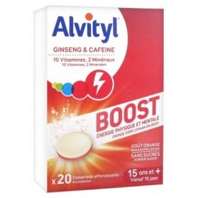 ALVITYL BOOST GINSENG ET CAFÉINE 20 COMPRIMÉS