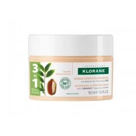 KLORANE MASQUE 3EN1 NUTRITION ET REPARATION AU BEURRE DE CUPUACU 150ML
