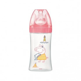 "Dodie Biberon Initiation+ 0-6 m 270 ml Peppa Pig ""Peppa"""