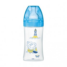 Dodie Biberon Initiation+ 0-6 m 270 ml Peppa Pig George