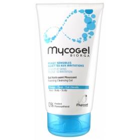 MYCOGEL GEL NETTOYANT MOUSSANT 150 ML
