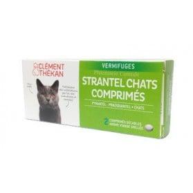 Strantel vermifuges chats 2 comprimés