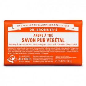 DR BRONNER'S SAVON DE CASTILLE SOLIDE ARBRE A THÉ 140 GR