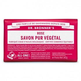 DR BRONNER'S SAVON DE CASTILLE SOLIDE ROSE 140 GR