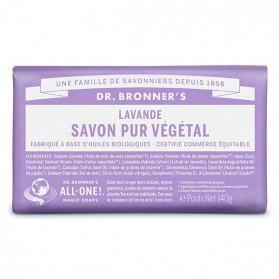 DR BRONNER'S SAVON DE CASTILLE SOLIDE LAVANDE 140g