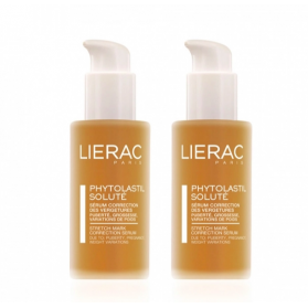LIERAC DUO PHYTOLASTISTIL SOLUTE SERUM CORRECTION VERGETURES 2X75ML