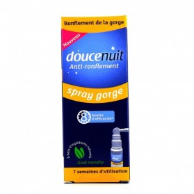 Douce Nuit Anti-ronflement Spray gorge goût menthe 60ML