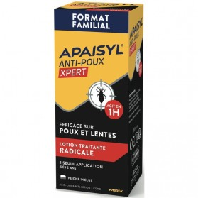 Apaisyl Xpert Anti-poux Lotion Traitante Radicale 200 ml