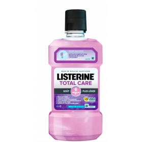 LISTERINE TOTAL CARE BAIN DE BOUCHE MENTHE DOUCE GOUT PLUS LEGER 500ML