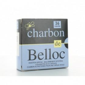 CHARBON DE BELLOC 125 MG 36 CAPSULES