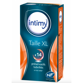 INTIMY PRESERVATIF TAILLE XL X14