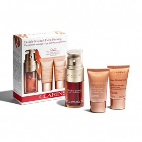 CLARINS COFFRET Double Serum & Extra-Firming Programme anti-âge