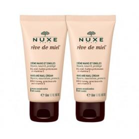 Nuxe Rêve de Miel Crème Mains et Ongles Lot de 2 x 50 ml