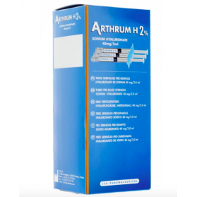 Arthrum H 2% 40mg/2ml solution injectable 3 seringues