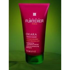 René Furterer Okara Protect Color Shampooing sublimateur d'éclat 250mL