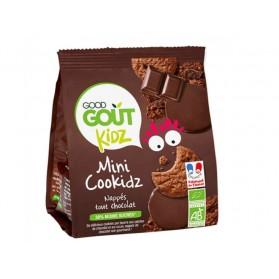 GOOD GOUT MINI COOKIDZ BISCUITS CHOCOLAT BIO KIDZ DES 3 ANS 115G