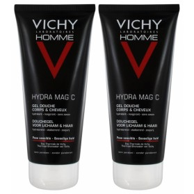 VICHY HOMME MAG-C GEL DOUCHE HYDRATANT REVIGORANT LOT DE 2 X 200 ML
