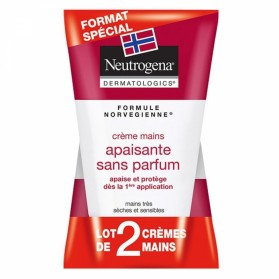 NEUTROGENA DUO CREME MAINS CONCENTREE SANS PARFUM 2X50ML