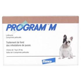 ELANCO PROGRAM M CHIENS DE 7 À 20 KG 6 COMPRIMÉS