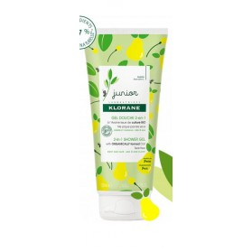 KLORANE JUNIOR GEL DOUCHE 2-en-1 Poire 200ml
