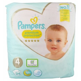 PAMPERS PREMIUM PROTECTION 24 COUCHES TAILLE 4 (8-16 KG)