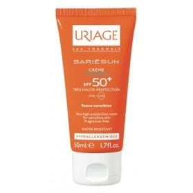 Uriage Bariésun Crème Sans Parfum SPF50+ haute protection Peaux Sensibles 50ml
