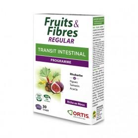 Ortis Fruits & Fibres Regular Transit Intestinal Programme 30 Comprimés