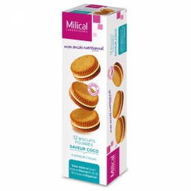 MILICAL BISCUIT 12 FOURRES 6 SACHETS DE 2 BISCUITS - COCO