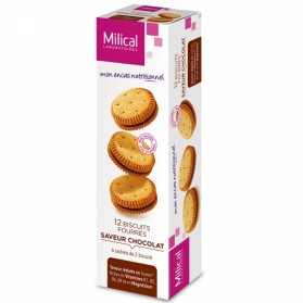 MILICAL BISCUIT 12 FOURRES 6 SACHETS DE 2 BISCUITS - CHOCOLAT